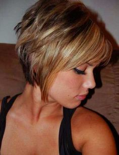 14. Short Layered Bob More