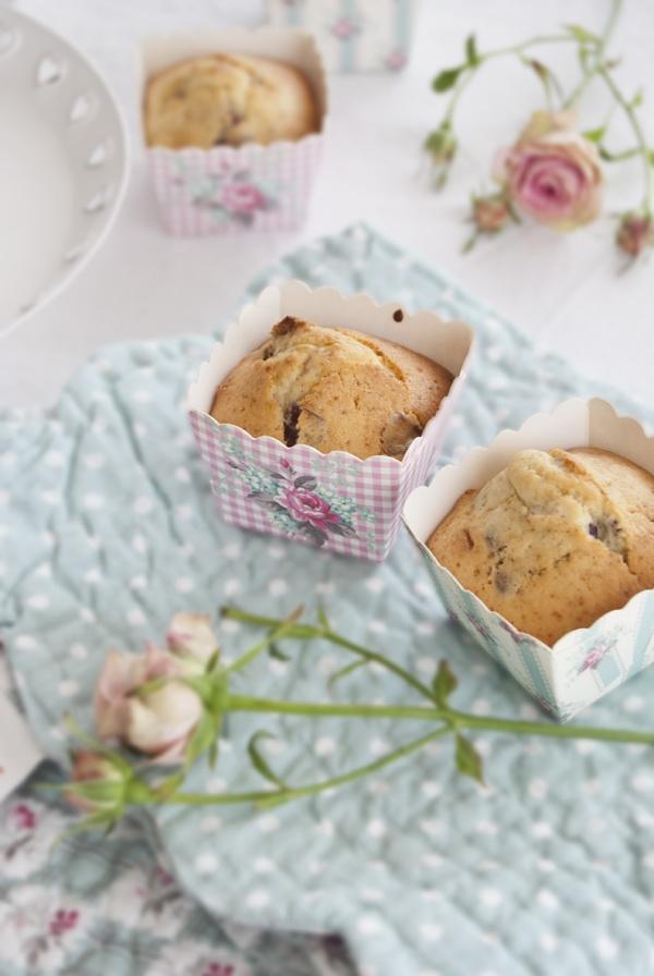 Il castello di zucchero: Muffins ai mirtilli