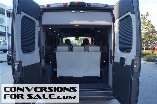 2015 Ram Promaster 2500 High Roof Sherrod Conversion Van