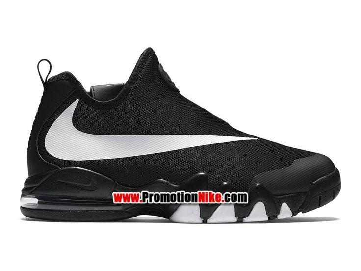 Nike Big Swoosh Chaussures et Sneakers LifeStyle Pas Cher Pour Homme Noir/ Blanc 832759-