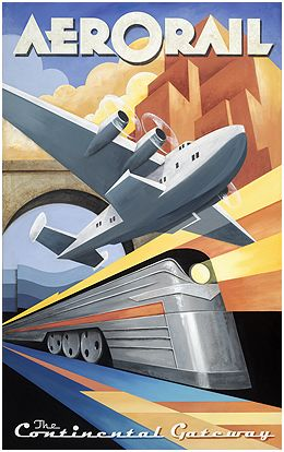 Aerorail, art by Mchael Kungl