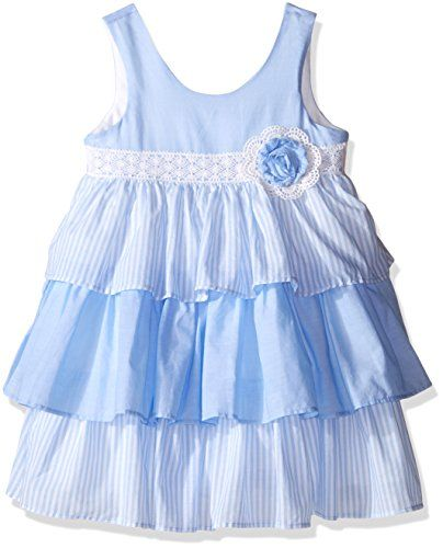 Laura Ashley London Girls' Little Girls' Gauzey Tiered Sk...