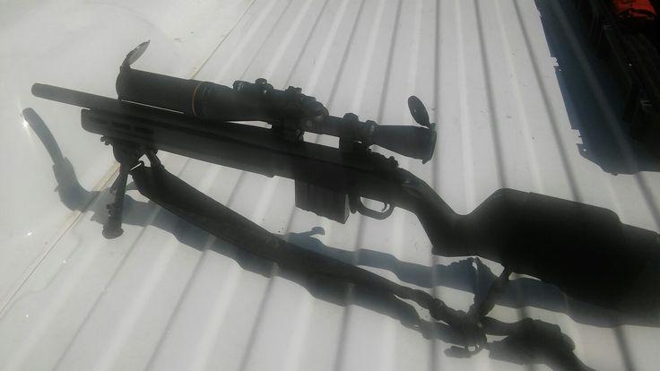 Remington 700 magpul aacsd 16.5-5/8's barrel