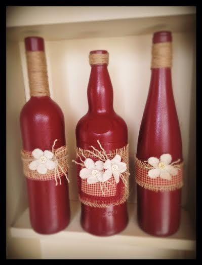 Cabernet and Burlap Wine Designs