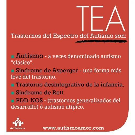 ¿Qué es#TEA? #info#Autismo#AutismoAmor#Autism #AutismAwarenesswww.autismoamor.com