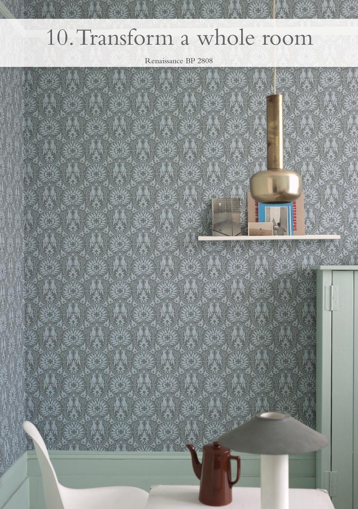 Transform a whole room - pictured Renaissance BP 2809