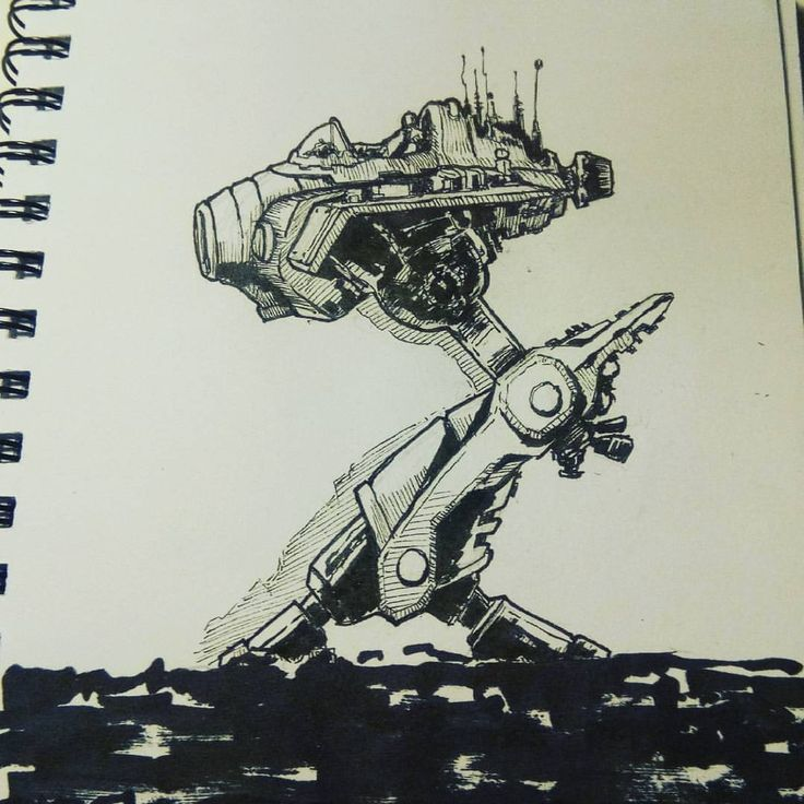 March of Robots 2017  Day 06  .  .  .  #marchofrobots2017 #marchofrobots #mech #airplane #gameart #gamedesign #gamedev #conceptart #gameartist #sciencefiction #scifiart #drawings #drawing #inking #sketch #sketchbook #robot