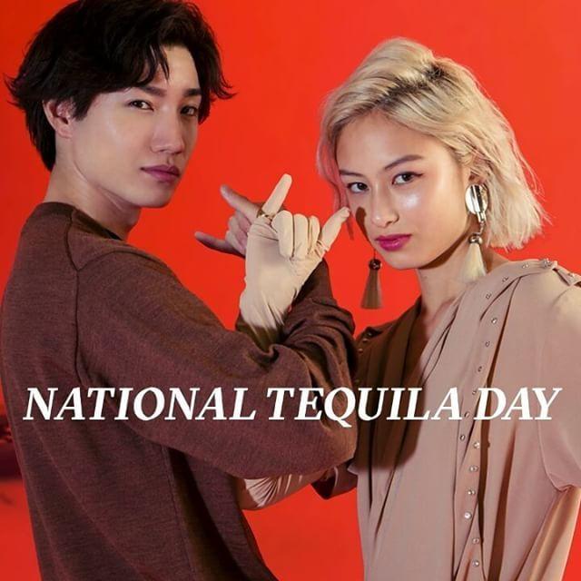 7月24日は テキーラの日 メキシコ生まれの蒸留酒テキーラ ショットで飲んでもマルガリータやテキーラサンライズみたいにカクテルで飲んでも テキーラの日を祝ってみんなで陽気に乾杯 http://www.nylon.jp/365 model: @DORISAKURADA @AYUMITURNBULL #365anniversary #fashion #makeup #beauty #style #game #music #今日は何の日 #テキーラ #make #JULY #nylonjapan #nylonjp #caelumjp #coordinated #coordinates #ootd #outfit #coordinate #photography #beautiful #swag #photooftheday #桜田通  via NYLON JAPAN MAGAZINE OFFICIAL INSTAGRAM - Celebrity  Fashion  Haute Couture  Advertising  Culture  Beauty  Editorial…