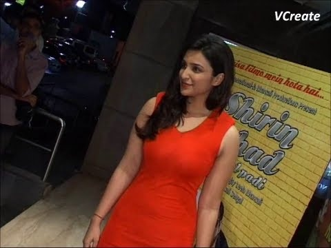 Parineeti Chopra at the screening of SHIRIN FARHAD KI TOH NIKAL PADI.