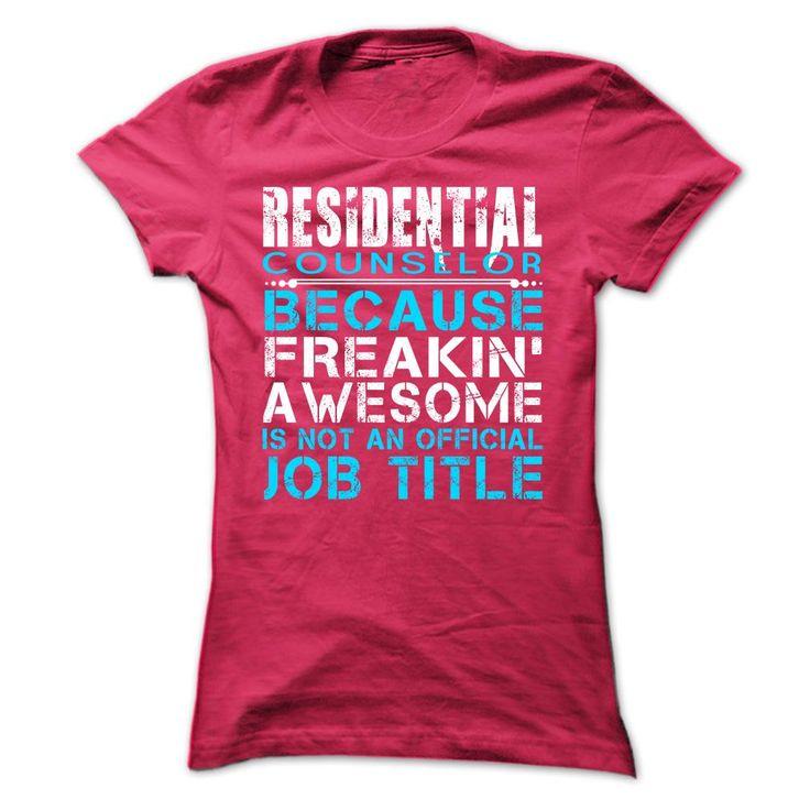 residential counselor job description