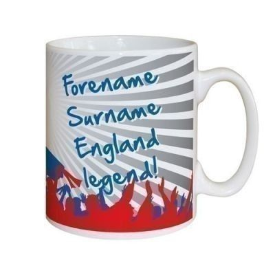 Do you know an England Legend? If they're supporting our Lionesses, they deserve this mug! #England #Football #Lionesses  £10.99