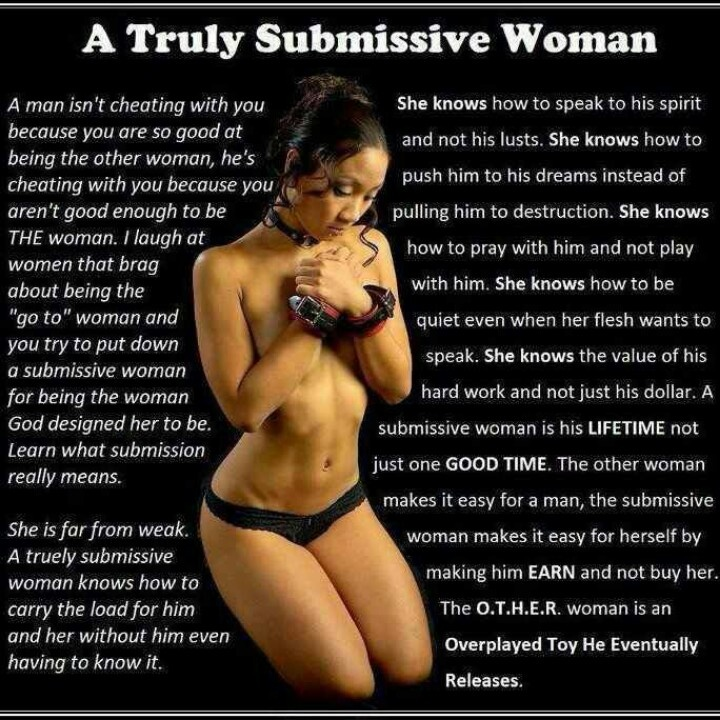 What Is A Submissive Woman