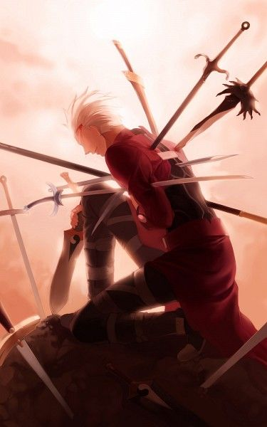 Archer Emiya - Fate/Stay Night - Unlimited Blade Works - Heaven's Feel - Fate/Extra - Fate/Extra CCC - Fate/Grand Order