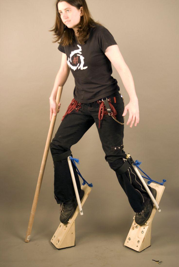 Digitigrade Stilts by orasa.deviantart.com on @deviantART