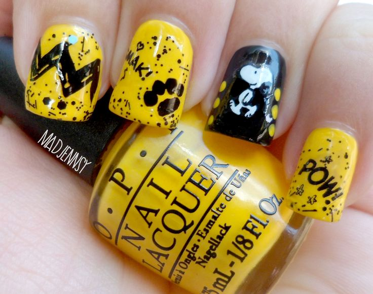 Best 25 snoopy nails ideas on pinterest spring nails christmas snoopy nail art peanuts collection by opi review watch step by step video tutorial prinsesfo Gallery
