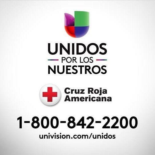 Univision Arizona se une a la Cruz Roja Americana para llevar ayuda... La línea de donaciones es el 1-800-842-2200  #UnidosPorLosNuestros