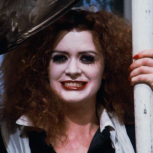 """Patricia Quinn as Magenta 