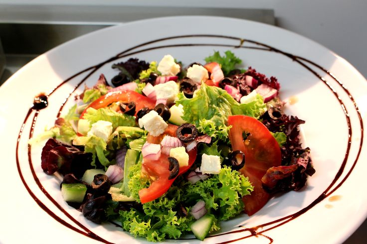 Tomi's Salad of the Day, this was a lovely Greek Salad with Feta and Olives