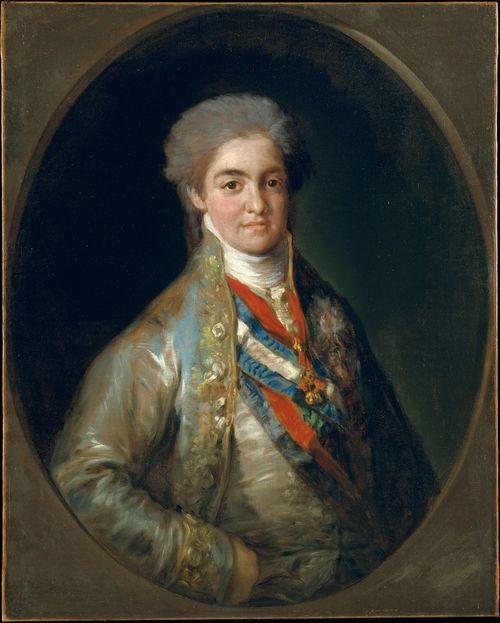 Fernando VII, rey de España, como el Príncipe de Asturias de Goya. Primogénito de Carlos IV de España y María Luisa de Parma.