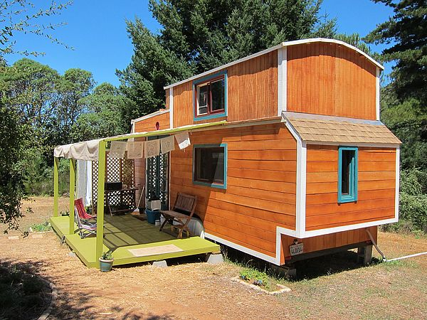tiny house on 50 acres - Two Story Tiny House