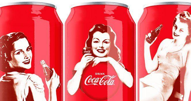 A Coca-Cola está comemorando seus 125 anos e para comemorar contratou o escritório de designBulletproof para criar embalagens comemorativas em estilo retrô.Fonte