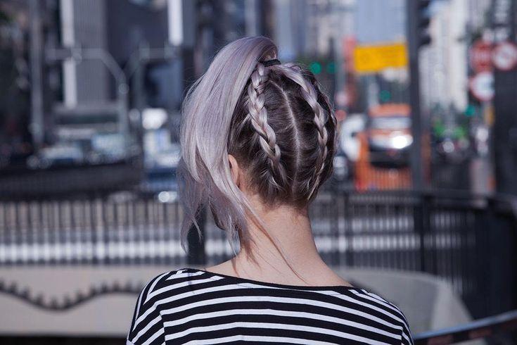 Cabelo lavanda é a tendência do momento quando o assunto é cores fantasia. Separamos 5 penteados incríveis para você fazer e valorizar ainda mais a cor. | All Things Hair - Dos especialistas em cabelos da Unilever