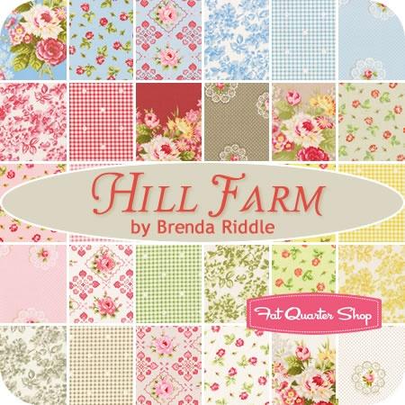 Hill Farm Yardage Brenda Riddle for Lecien Fabrics