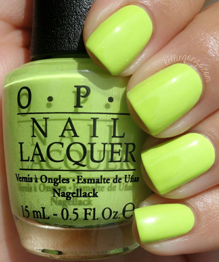 Yellow/green Creme #nail_polish