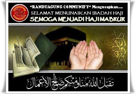Contoh Kartu Ucapan Selamat Menunaikan Ibadah Haji Mabrur