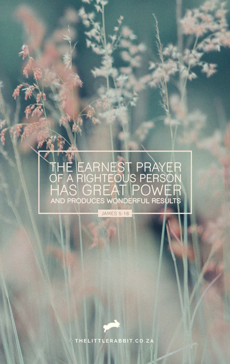 """""""Confess your sins to each other and pray for each other so that you may be healed. The earnest prayer of a righteous person has great power and produces wonderful results."""" James 5:16 NLT"""