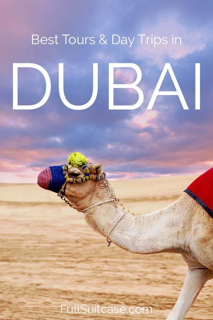 Best Dubai tours, day trips and excursions you shouldn't miss (United Arab Emirates) #dubai