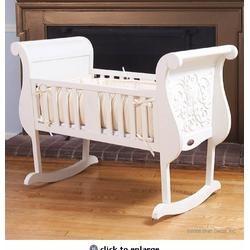 Chelsea Cradle in White
