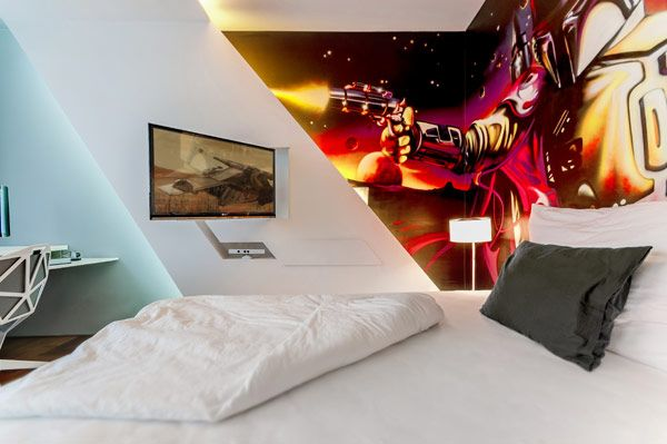 94 best geek chic accessories and interiors images on for Geek bedroom ideas