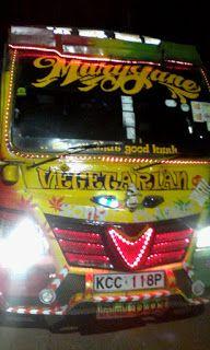 Top 10 Buses in Nairobi Town