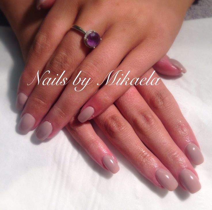 Sculptured acrylic nails with gel polish, nails by Mikaelac Wigan
