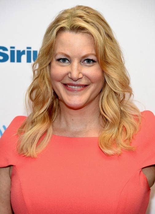Anna Gunn at the SiriusXM Radio Event in July 2016...