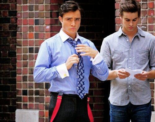 Chuck Bass and Nate Archibald. | Gossip Girl. | Pinterest