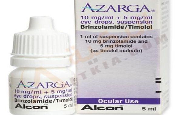 دواء ازارجا Azarga قطرة ذات تأثير إيجابي وفعال لعلاج ارتفاع ضغط العين حيث يحتوي على بعض المواد الفعالة القادرة على Hand Soap Bottle Eye Drops Shampoo Bottle