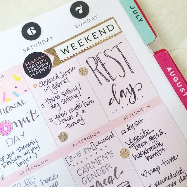 Filling up the last minute details of my weekend so I can start on this week. ✒️