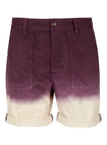 Dip Dye Chino Shorts - Casual Shorts  - Mens Shorts  - Clothing