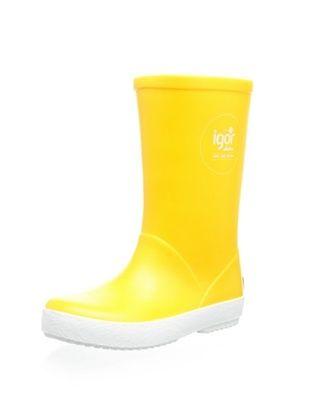 44% OFF igor Kid's Splash Nautico Rain Boot (Amarillo)