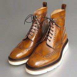 Designer Country Boots Italian Vibram