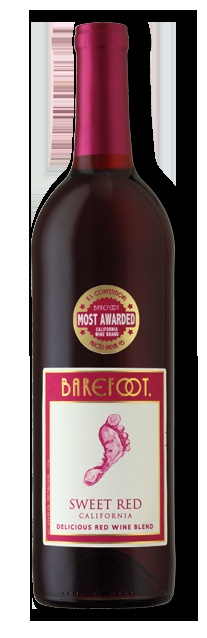 Barefoot Sweet Red California Wine