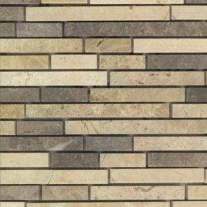 Product ID:MARCOEVOBRBL 12X12 Coevo Bristol Blend Mosaic #Profiletile