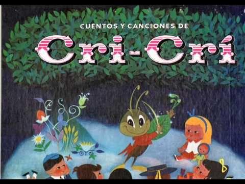 Cuentos y Canciones de Cri-Crí 1 Di por que, Che Araña.wmv - YouTube