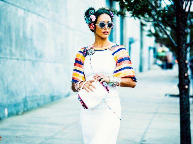 Juliane RossiinChanel Cruise 2015-16&Round Runway Eyewear~Styled byKelly Framel~ Hair & Makeup byPorsche Cooper ~ Shot in Bushwick, Brooklyn