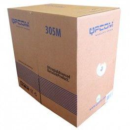 QP-65804A  -  CABLE UTP SOLIDO - CAT. 5E 25A WG 4PR UT