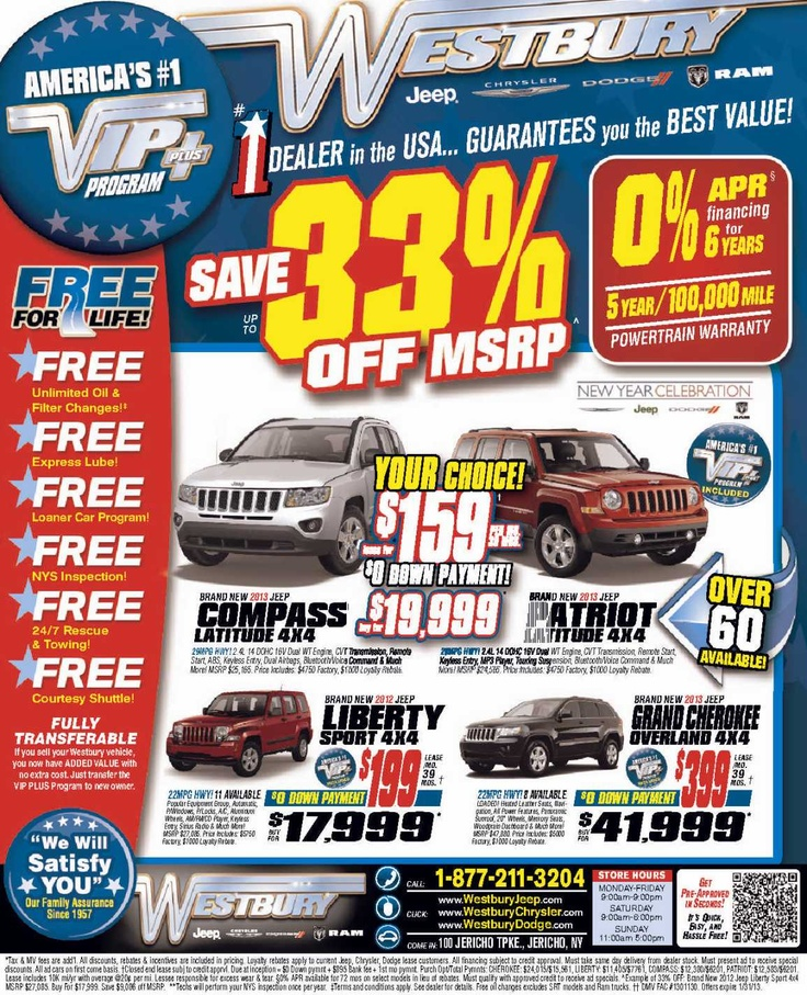 long island jeep lease sale long island jeep dealer january 2013. Cars Review. Best American Auto & Cars Review