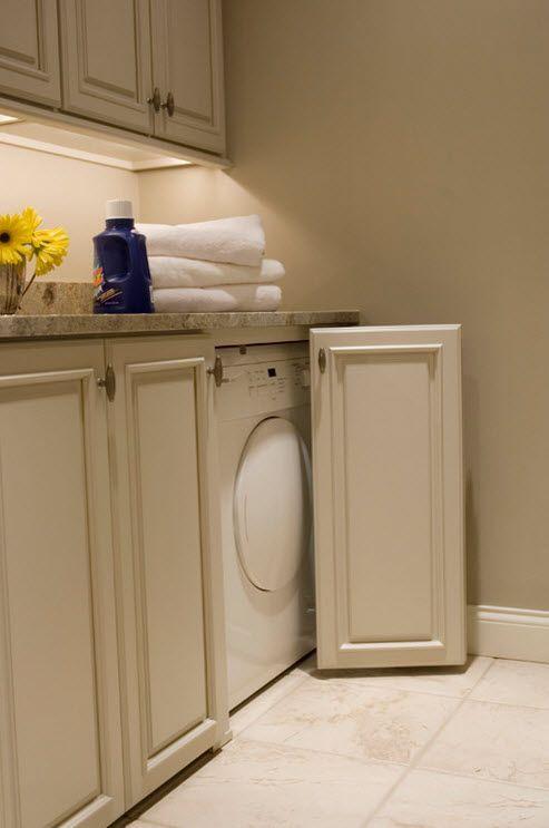 Спрятать стиральную машину