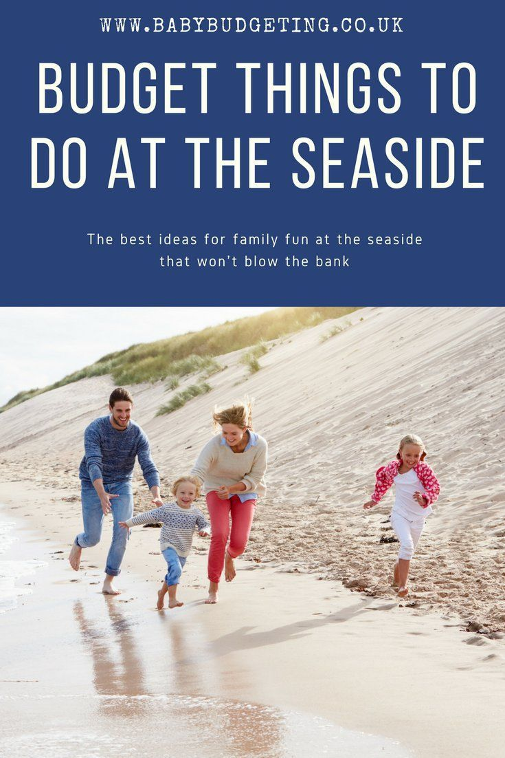 50 fun things to do at the seaside on a budget - enjoy the beach the thrifty way! Money saving ideas for a trip to the seaside